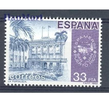 Znaczek Hiszpania 1982 Mi 2559 Czyste **