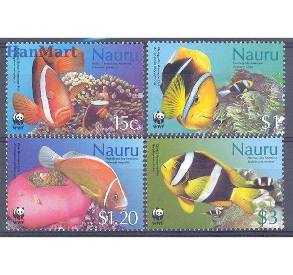 Nauru 2003 Mi 553-556 Czyste **