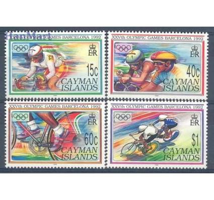 Znaczek Kajmany 1992 Mi 667-670 Czyste **