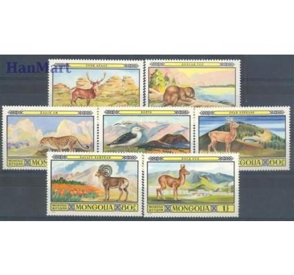 Znaczek Mongolia 1974 Mi 887-893 Czyste **