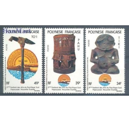 Znaczek Polinezja Francuska 1980 Mi 309-311 Czyste **