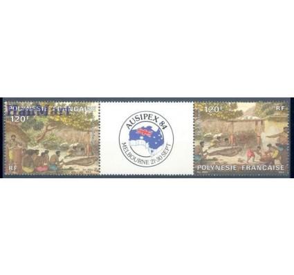 Znaczek Polinezja Francuska 1984 Mi 407-408 Czyste **