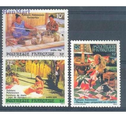 Znaczek Polinezja Francuska 1986 Mi 457-459 Czyste **