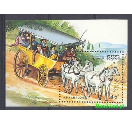 Znaczek Kambodża 1989 Mi bl 168 Czyste **