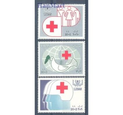 Znaczek Liban 1988 Mi 1336-1338 Czyste **