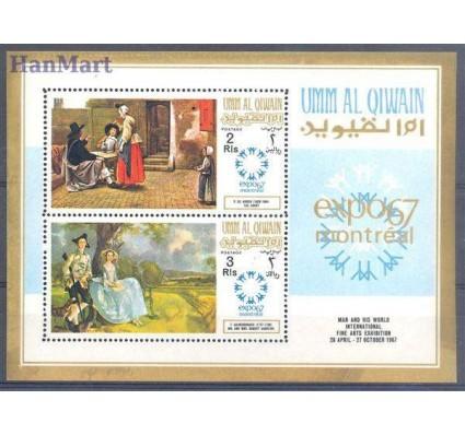 Znaczek Umm Al Qiwain 1967 Mi bl 11 Czyste **