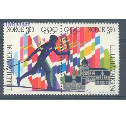 Znaczek Norwegia 1993 Mi 1139-1140 Czyste **