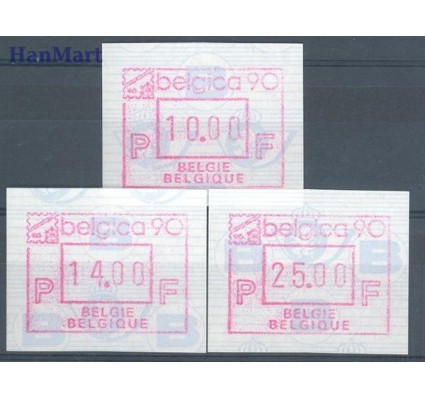 Znaczek Belgia 1990 Mi aut 21VL Czyste **