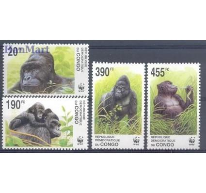 Znaczek Kongo Kinszasa / Zair 2002 Mi 1708-1711 Czyste **