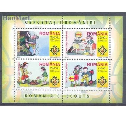 Znaczek Rumunia 2005 Mi bl 357 Czyste **