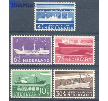 Znaczek Holandia 1957 Mi 692-696 Czyste **