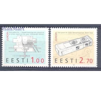 Znaczek Estonia 1994 Mi 233-234 Czyste **