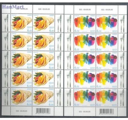 Znaczek Estonia 2005 Mi ark 515-516 Czyste **