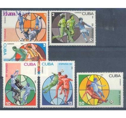Znaczek Kuba 1981 Mi 2540-2545 Czyste **