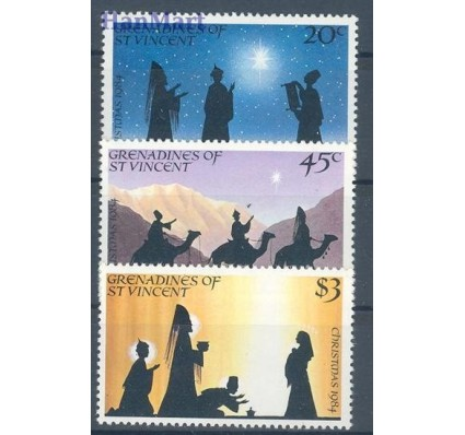 Znaczek Grenadines of St Vincent 1984 Mi 360-362 Czyste **