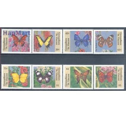 Znaczek Grenadines of St Vincent 1989 Mi 664-671 Czyste **