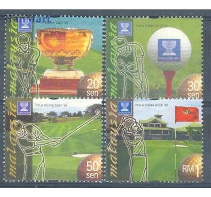 Znaczek Malezja 1999 Mi 815-818 Czyste **