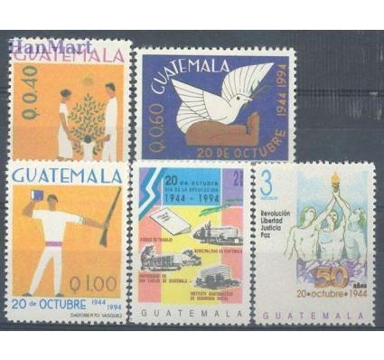 Znaczek Gwatemala 1995 Mi 1333-1337 Czyste **