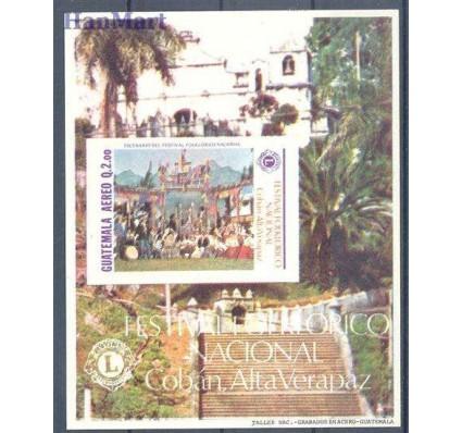 Znaczek Gwatemala 1988 Mi bl 32 Czyste **