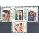 Jordania 1993 Mi 1516-1519 Czyste **