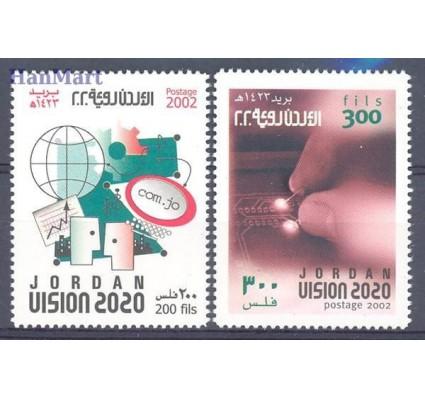 Znaczek Jordania 2002 Mi 1802-1803 Czyste **