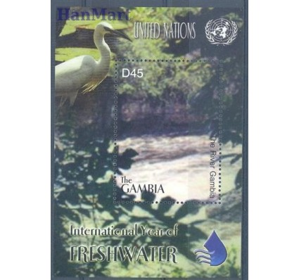 Znaczek Gambia 2003 Mi bl 640 Czyste **