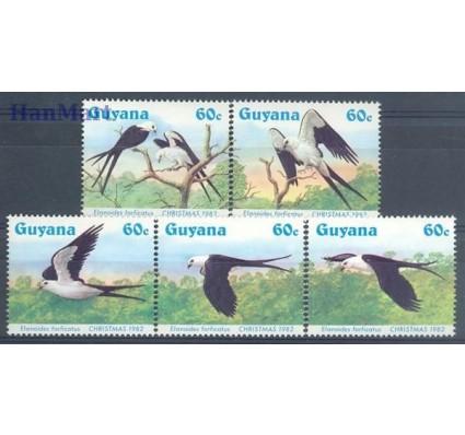 Znaczek Gujana 1984 Mi 1266-1270 Czyste **