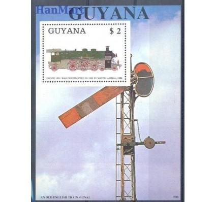 Znaczek Gujana 1989 Mi bl 36 Czyste **