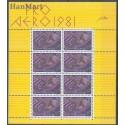 Szwajcaria 1981 Mi ark 1196 Czyste **