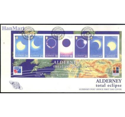Znaczek Alderney 1999 Mi bl 6 FDC