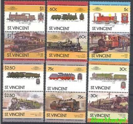 St. Vincent 1985 Mi 832-843 Czyste **