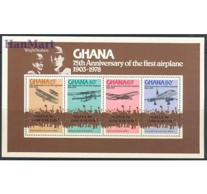Ghana 1978 Mi bl 77 Czyste **