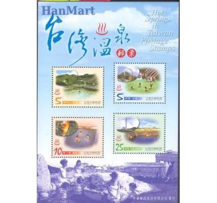 Znaczek Tajwan 2003 Mi bl 100 Czyste **