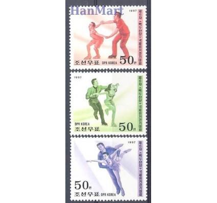 Znaczek Korea Północna 1997 Mi 3908-3910 Czyste **