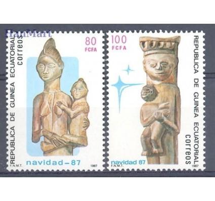 Znaczek Gwinea Równikowa 1987 Mi 1691-1692 Czyste **
