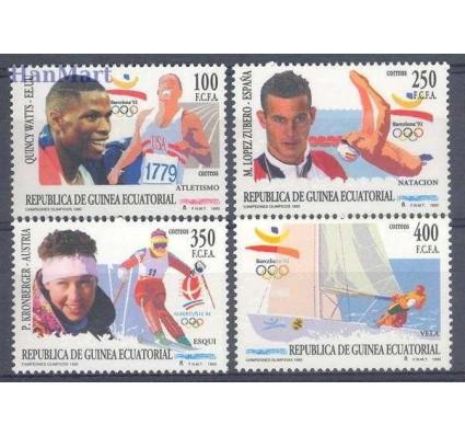 Znaczek Gwinea Równikowa 1993 Mi 1760-1763 Czyste **