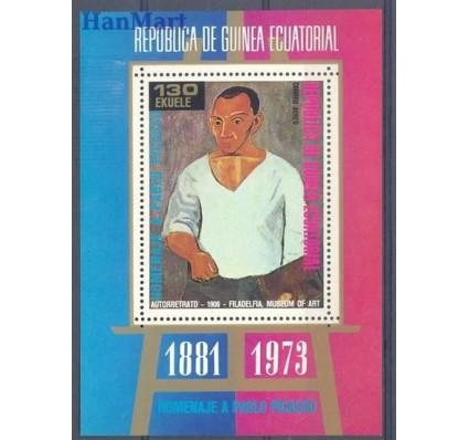 Znaczek Gwinea Równikowa 1973 Mi bl 91 Czyste **