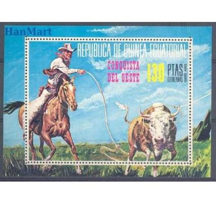 Gwinea Równikowa 1974 Mi bl 126 Czyste **