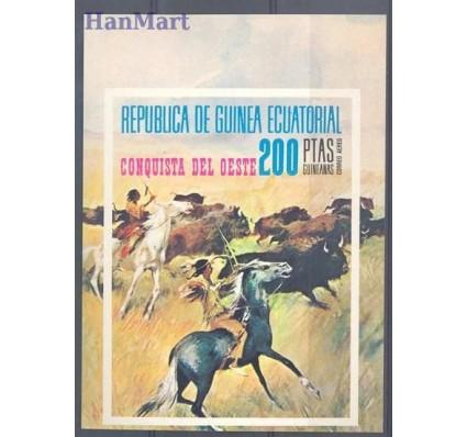 Znaczek Gwinea Równikowa 1974 Mi bl 127 Czyste **