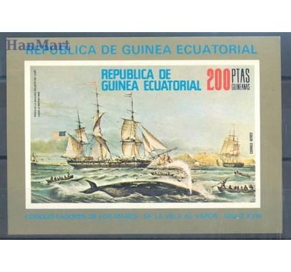 Znaczek Gwinea Równikowa 1976 Mi bl 249 Czyste **