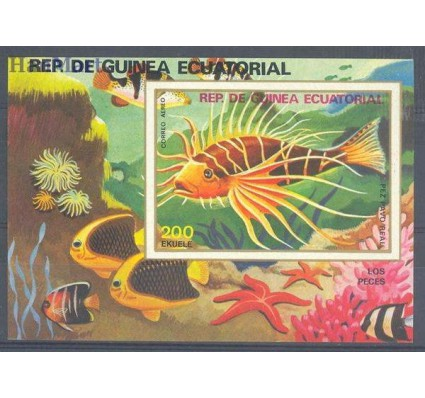 Znaczek Gwinea Równikowa 1979 Mi bl 313 Czyste **