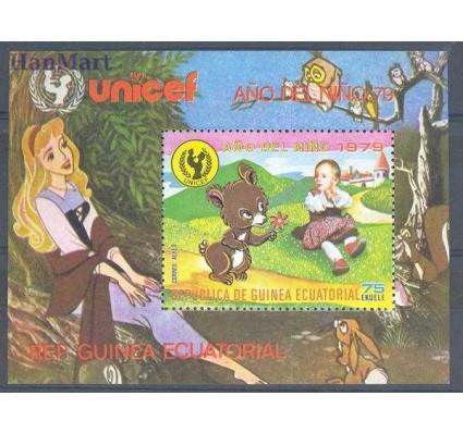 Gwinea Równikowa 1979 Mi bl 314 Czyste **