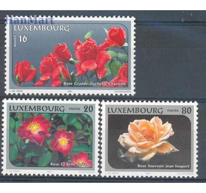 Znaczek Luksemburg 1997 Mi 1411-1413 Czyste **
