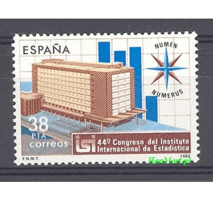 Znaczek Hiszpania 1983 Mi 2603 Czyste **