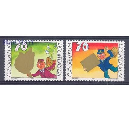 Liechtenstein 2001 Mi 1257-1258 Czyste **