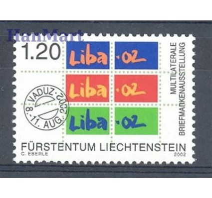 Znaczek Liechtenstein 2002 Mi 1285 Czyste **