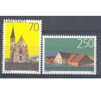 Znaczek Liechtenstein 2002 Mi 1314-1315 Czyste **