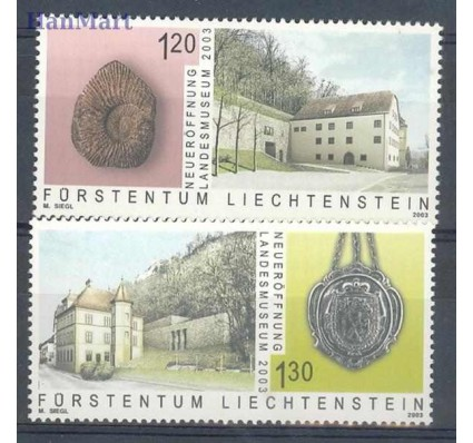 Znaczek Liechtenstein 2003 Mi 1319-1320 Czyste **