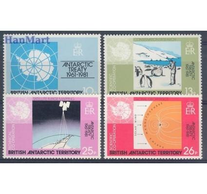 Znaczek Brytyjskie Terytorium Antarktyczne 1981 Mi 84-87 Czyste **