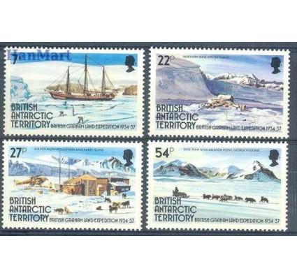 Znaczek Brytyjskie Terytorium Antarktyczne 1985 Mi 124-127 Czyste **